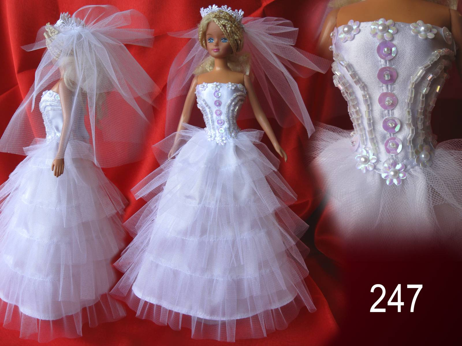 Свадебное платье для Барби - Своими руками интернет журнал 7